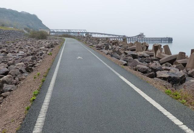 Wales Coast Path near Penmaen Rhos