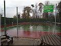 SJ3251 : Tennis Courts - Wrexham Tennis Club by Paul Gillett