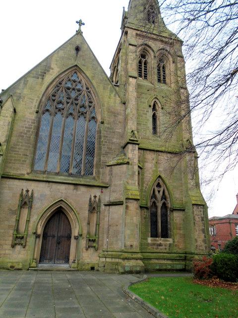 St Mary's catholic cathedral, Wrexham