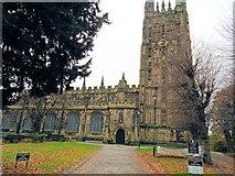 SJ3350 : St Giles's Church, Wrexham by Paul Gillett