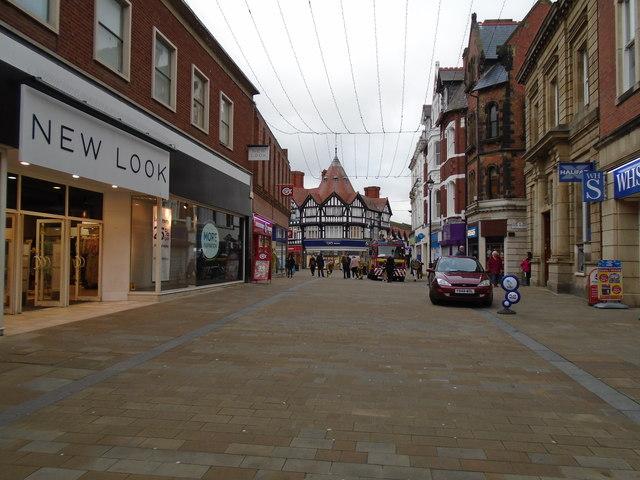 High Street Wrexham