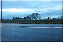 TF4406 : The A47 south of Wisbech by David Howard