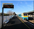 SS5099 : Carmarthen train leaving Llanelli station by Jaggery