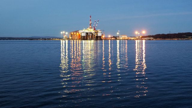 Global Energy, Nigg seen from Cromarty