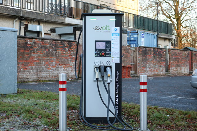Electric Vehicle Charging Point, New Cumnock