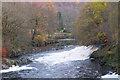 NN1862 : Tail Race, River Leven by Jim Barton
