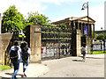NS5666 : Glasgow University, Quincentenary Gates by Stephen Craven