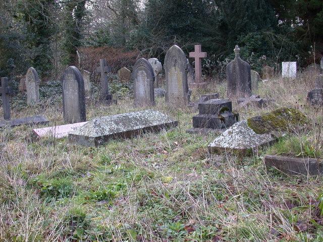 St Peter's Churchyard in Southborough, Kent