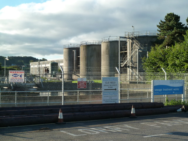 Clay Mills Sewage Treatment Works