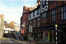 SJ2929 : Oswestry: view along Cross Street by Christopher Hilton