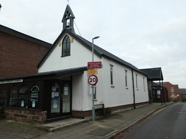 Tin tabernacle, Main Street, Frodsham