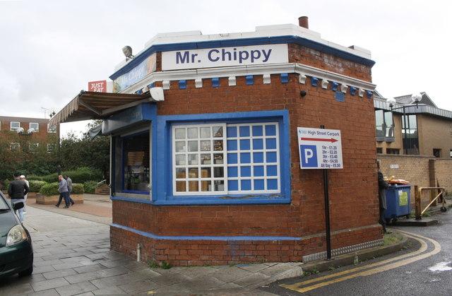 Mr Chippy booth, High Street