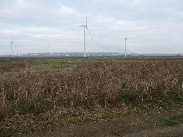Eastern section, Frodsham wind farm
