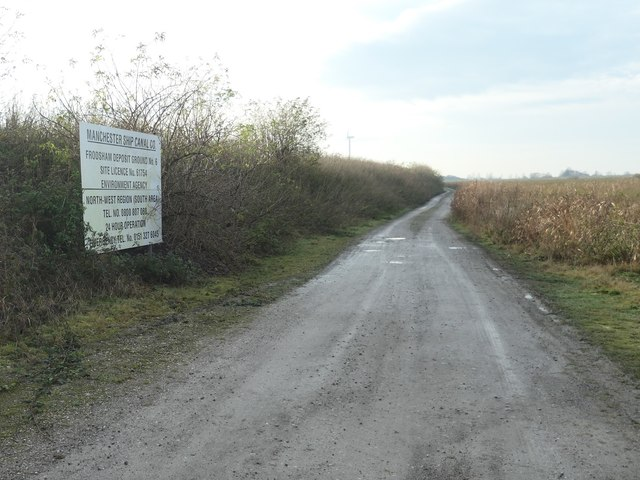 Restricted byway, Frodsham Marsh