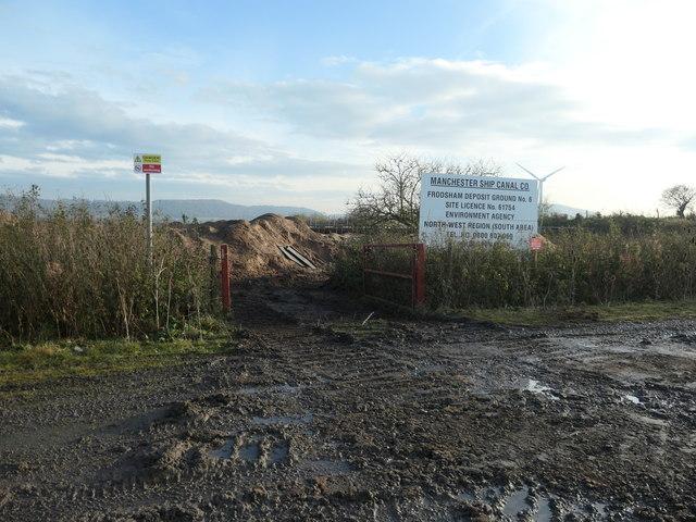 Entrance to Frodsham Deposit Ground No. 6