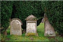NH4943 : Gravestones in Kilmorack Burial Ground by Julian Paren