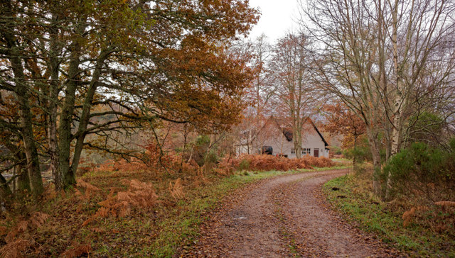Cruives Lodge on the Lovat Estate
