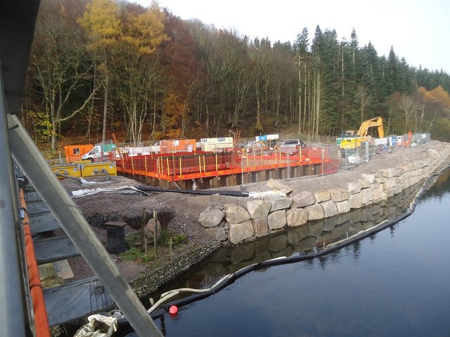 Work for the new Pooley Bridge
