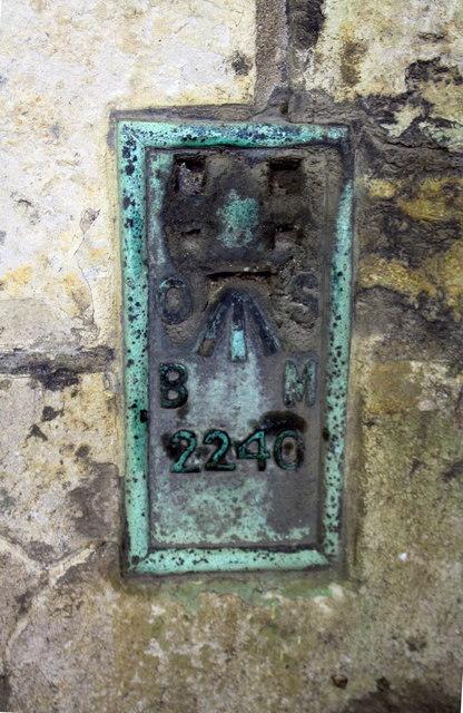 Benchmark on St Mary le Wigford Church