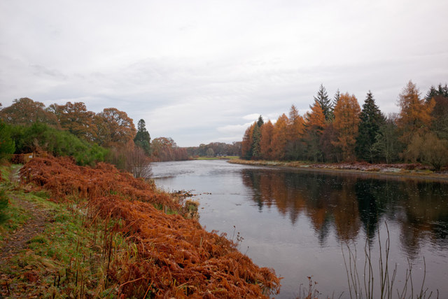 River Beauly near Castle Hill