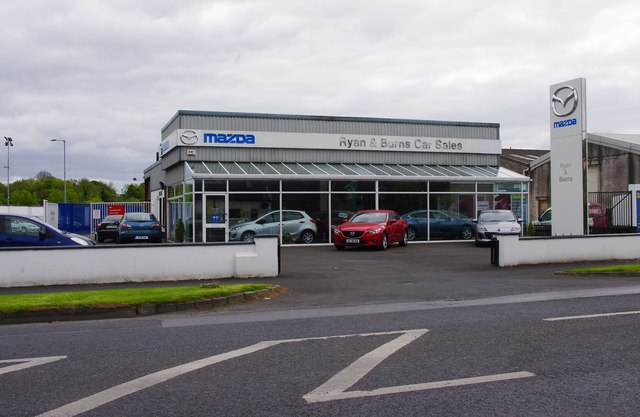 Ryan & Burns Car Sales, Dublin Road, Nenagh, Co. Tipperary