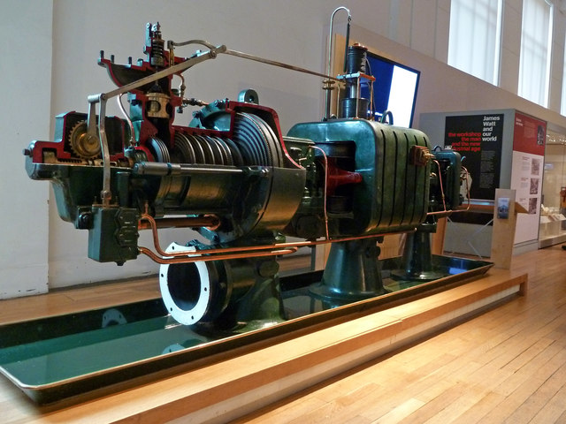 Science Museum - steam turbine