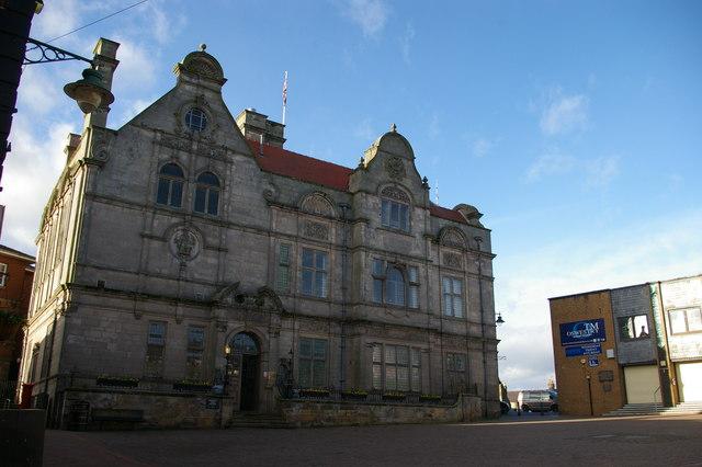 Oswestry: the Attfield Theatre, Bailey Head
