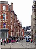 SP0686 : Pinfold Street in Birmingham by Roger  Kidd