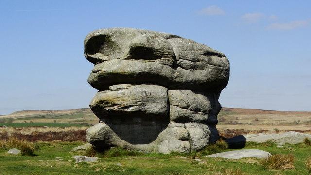 Eagle Stone, Baslow Edge