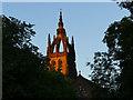 NS5767 : Tower of Kelvinside Memorial Church by Stephen Craven