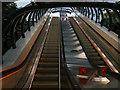 NS5766 : Escalators to Kelvinbridge subway station, inside by Stephen Craven