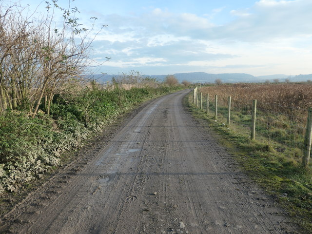 Cross Lane, heading south