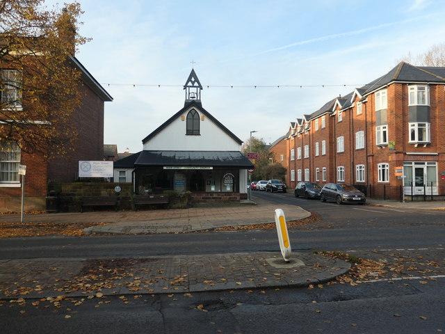 Old church, new street, Frodsham