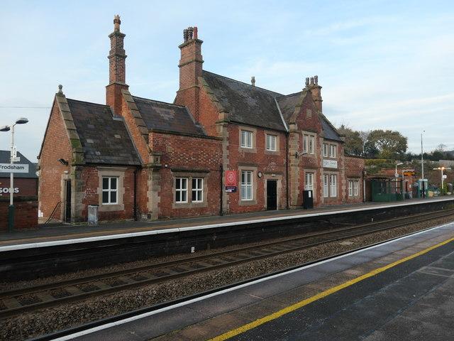 Former station building, Frodsham