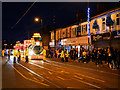 SD3347 : Illuminated Tram on Lord Street by David Dixon