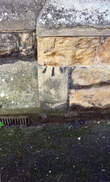 Benchmark on St Swithin's Church