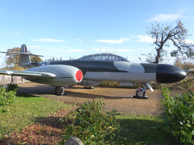 Croome Park - Gloster Meteor WD686
