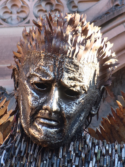 The Knife Angel at Chester Cathedral - 4