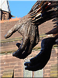 SJ4066 : The Knife Angel at Chester Cathedral - 5 by John S Turner
