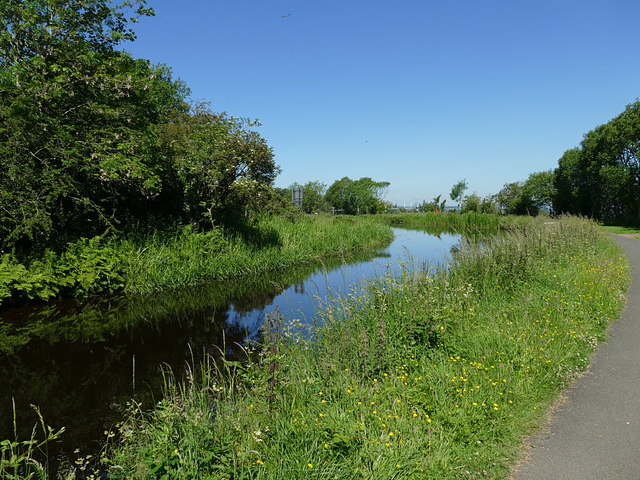 The Union Canal above Falkirk