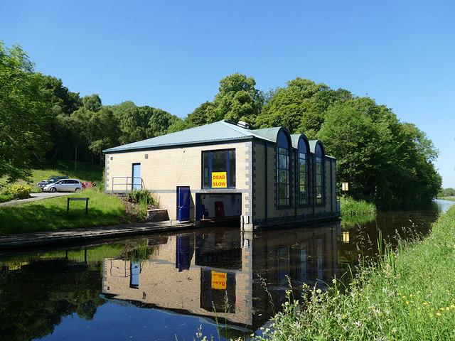 The Seagull Trust boathouse