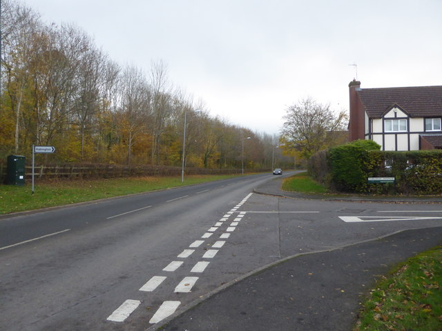 Junction of Plantation Drive and Purleigh Avenue