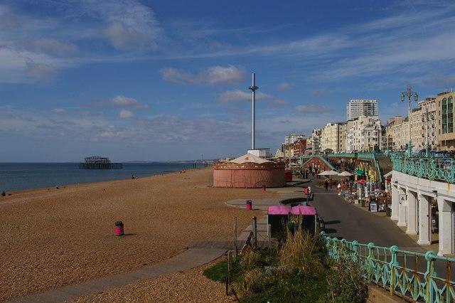 Brighton: sea front