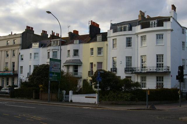 Brighton: Regency buildings, St Peters Place