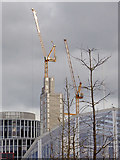 SP0686 : Skyline north east from Centenary Square in Birmingham by Roger  Kidd