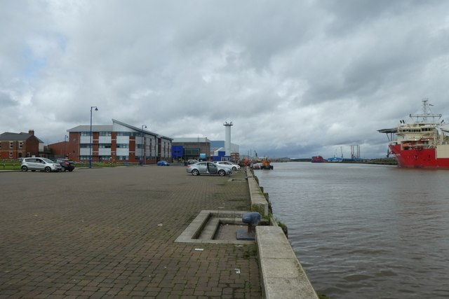Harbourside in Blyth