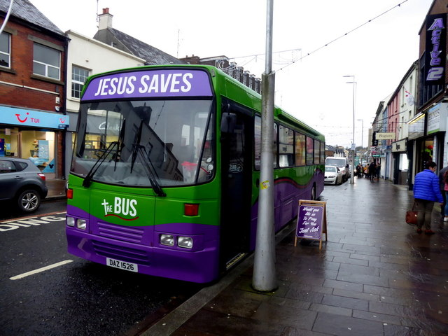The Bus, Market Street, Omagh