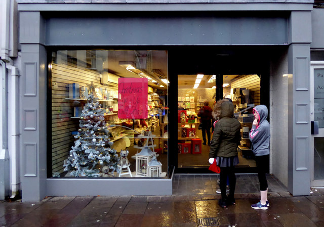 Christmas pop-up shop, Omagh