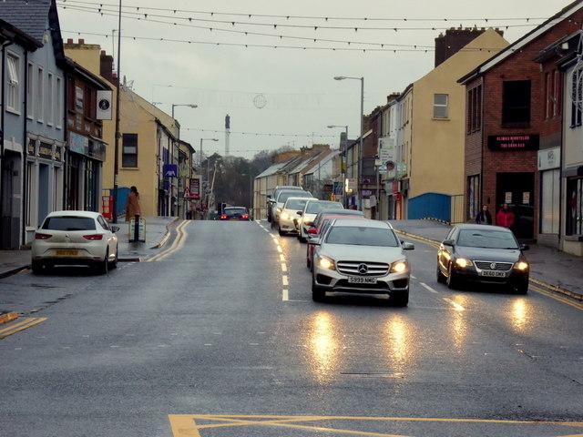 Getting dark, Omagh