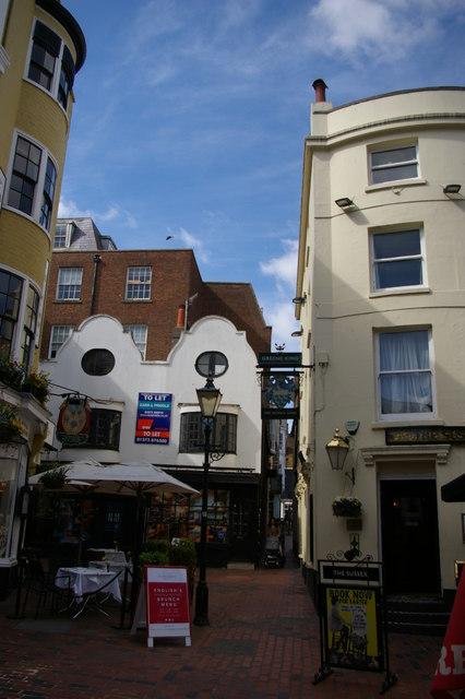 Brighton: Market Street, in The Lanes